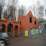 Остекление магазина у парка в Солнечногорске