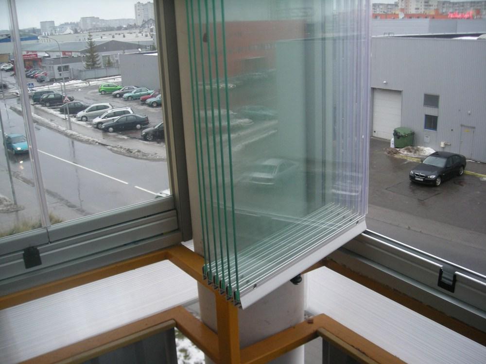 Остекление балконов и лоджий финский профиль.