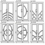 Дизайн входных дверей REHAU