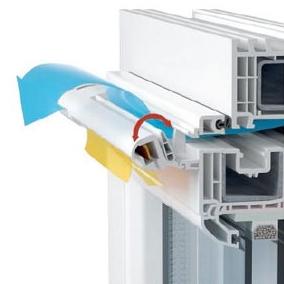 Виды вентиляционных клапанов на пластиковых окнах