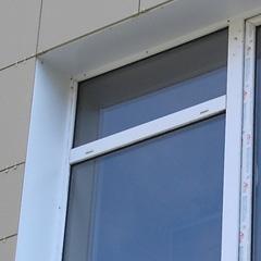 Отделка наружных откосов пластиковых окон