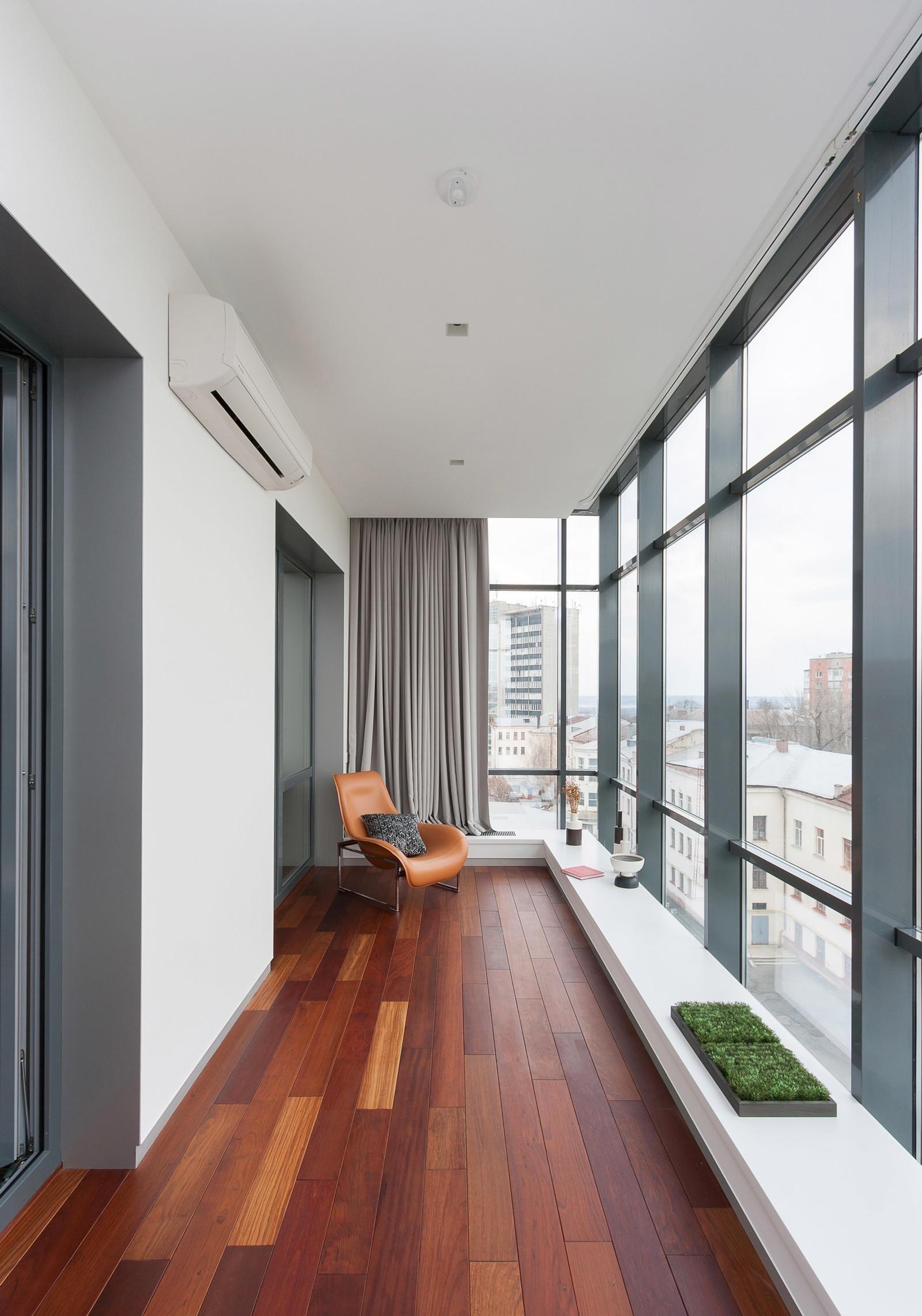 Панорамное остекление балконов и лоджий.