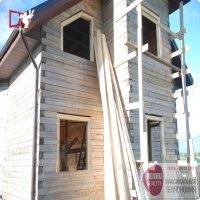 Окна Рехау и окосячка в брусовой дом в Истре