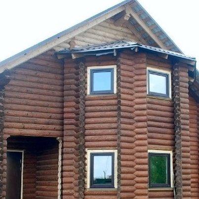 Клееная окосячка и окна в сруб в Солнечногорске